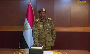 Lieutenant General Abdel Fatah al-Burhan - Sudanese TV Channel screenshot