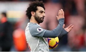 December 8, 2018 Liverpool's Mohamed Salah applauds fans after the match Action Images via Reuters/Matthew Childs