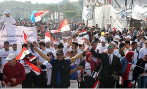 Hundreds of Egyptian citizens took part in an election rally in Cairo's Abdeen square – Egypt Today/Hossam Atef