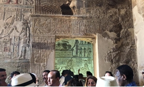 inaugurated the newly-restored Opet Temple in Luxor on Friday- Egypt Today/Mustafa Marie