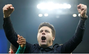 Soccer Football - Champions League Quarter Final Second Leg - Manchester City v Tottenham Hotspur - Etihad Stadium, Manchester, Britain - April 17, 2019 Tottenham manager Mauricio Pochettino celebrates after the match REUTERS/Andrew Yates