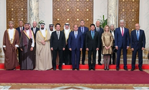 Egypt's President Abdel Fatah al-Sisi receives on Monday the ministers of youth of the Arab states in Cairo – Press photo