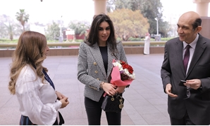 FILE - Yasmine Sabry during the honoring