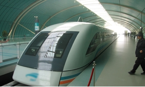 Shanghai Transrapid Photo by Yosemite- CC via Wikimedia