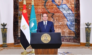 President Abdel Fatah al-Sisi' speech marking Africa Day occasion on May 25 - press photo