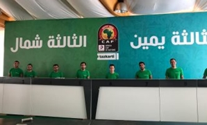 Tazkarti booths at Al Jazira youth center- press photo