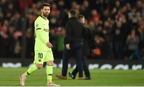 Messi in Liverpool's match - FILE