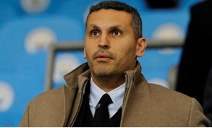 FILE PHOTO: Soccer Football - Champions League - Round of 16 Second Leg - Manchester City v Schalke 04 - Etihad Stadium, Manchester, Britain - March 12, 2019 Manchester City Chairman Khaldoon Al Mubarak before the match REUTERS/Phil Noble/File Photo