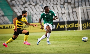 Congolese footballer of Ittihad of Alexandria Club Kabongo Kasongo -  File Photo