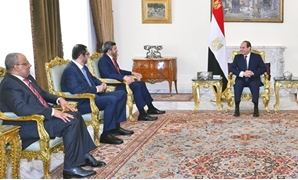 President Sisi receives on Sunday Sheikh Abdullah bin Zayed Al Nahyan, the UAE's minister of Foreign Affairs and International Cooperation – Press photo