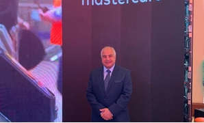 Mastercard's Senior Vice President, Digital Payments & Labs, Middle East & Africa, Gaurang Shah, and General Manager for Egypt and Pakistan, Magdy Hassan at the event