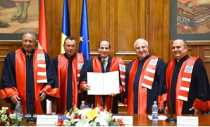 The Bucharest University of Economic Studies confers an honorary doctorate on Egypt's President Abdel Fatah al-Sisi – Press photo
