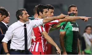 Soccer Football - Sassuolo v Athletic Bilbao - UEFA Europa League Group Stage - Group F - Stadio Citta del Tricolore, Reggio Emilia, Italy - 15/9/16Athletic Bilbao coach Ernesto Valverde Reuters / Stefano RellandiniLivepicEDITORIAL USE ONLY.