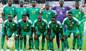 Senegal's players - FILE