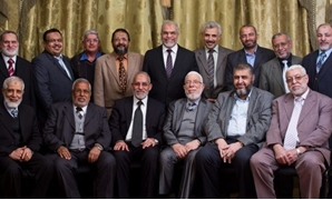 Leaders of the outlawed Muslim Brotherhood group - FILE