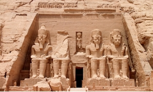 Beautiful Temple in Aswan - Press Photo