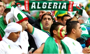 FILE-Algerian football fans