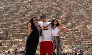 Franck Ribery with his family in the pyramids area – Ribery Instagram account