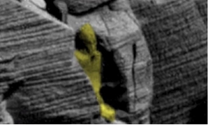 "Besides an ancient Egyptian sarcophagus, Waring claims to have discovered incomplete statues left behind by ""Martians"" - Credit: ET Data Base"