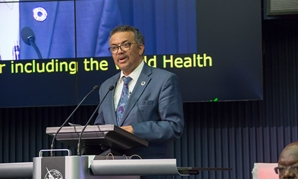 Tedros Adhanom Ghebreyesus - Director General, World Health Organization (WHO) delivering his opening remarks at the AI for Good Global Summit 2018 - ITU Pictures