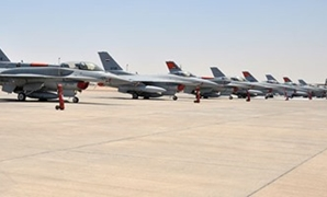 The Egyptian Air Force (EAF) on Sunday organized a ceremony to mark the end of the third phase of development works at one of the Egyptian air bases in cooperation with the US.