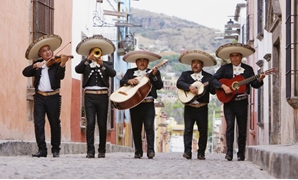 Mariachi traditional Mexican band, a type of music that is considered to be representative of Mexico. It accompanies the important moments in Mexican life - Tripsavvy