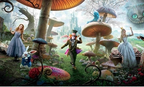 Alice in Wonderland - Medium