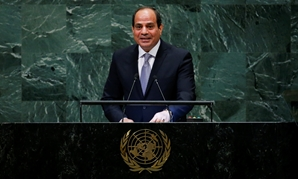 Egypt's President Abdel Fattah al-Sisi addresses the 73rd session of the United Nations General Assembly at U.N. headquarters in New York, U.S., September 25, 2018. REUTERS/Eduardo Munoz