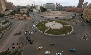 A general view of Tahrir Square in downtown Cairo, (Reuters)