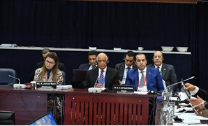 Parliament Speaker Ali Abdel Aal on Monday participates in the meeting of the High-Level Advisory Group on Countering Terrorism and Violent Extremism - Press photo