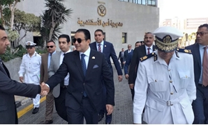 A delegation from the Parliament's human rights committee headed by Alaa Abed arrived at the headquarters of the Alexandria Security Directorate as the first leg of a visit organized by the committee to inspect a number of police departments in the govern