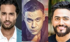 Karim Fahmy, Mohamed Imam, Tamer Hosny - Compiled Photo
