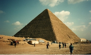 The Great Pyramid of Giza - Flickr/David Holt