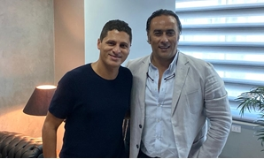 Montaser Al-Nabrawy alongside with Amr Mansi - File