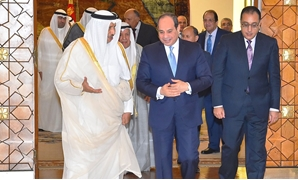 President Abdel Fattah Al-Sisi on Monday received Kuwait's Prime Minister Jaber Al-Mubarak Al-Hamad Al-Sabah – Courtesy of the Egyptian Presidency