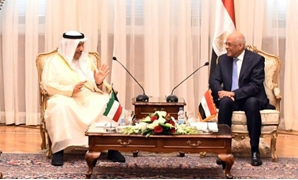 Egypt's Parliament Speaker Ali Abdel Aal on Monday received Kuwait's Prime Minister Sheikh Jaber Al-Mubarak accompanied by a high-level delegation – Press photo