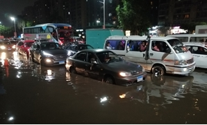 Cairo streets covered in rain water - Mohamed el-Shahed/AFP