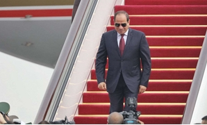 File Photo: Egyptian President Abdel Fattah al-Sisi arrives at Beijing International Airport before the Forum on China-Africa Cooperation (FOCAC), September 1 - Reuters