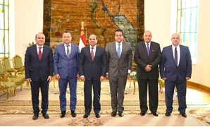 President Sisi met a delegation from the University of Bucharest on Saturday, one of Romania's most significant educational institutions - Press photo