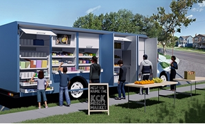 Mobile grocery truck - University of Kansas