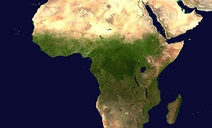 Africa (satellite image) - CC via Wikimedia Commons/Nasa