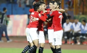 Egyptian Olympic team players celebrate - FILE