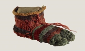 Example of an ancient Egyptian sock - ET
