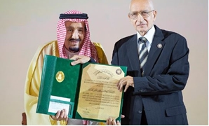 Saudi's King Salman honoring late iconic writer Mahmoud Hegazy - ET