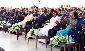 President Abdel Fattah el-Sisi participates in the first day of the Aswan Forum, December 11th - Courtesy of the Presidency
