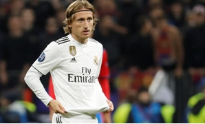 Soccer Football - Champions League - Group Stage - Group G - CSKA Moscow v Real Madrid - VEB Arena, Moscow, Russia - October 2, 2018 Real Madrid's Luka Modric comes on as a substitute REUTERS/Tatyana Makeyeva