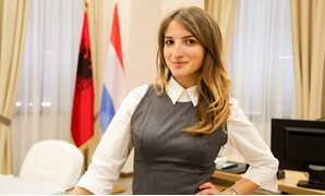 From the small country of Albania, Sara Zekaj prepares to attend the World Youth Forum set to kick off on Dec.14 in Sharm el-Sheikh