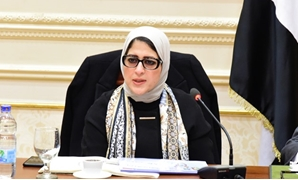 Minister of Health Hala Zayed attends meeting with members of the Parliament's African Affairs Committee - Egypt Today/Khaled Mashaal