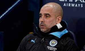FILE PHOTO: Soccer Football - FA Cup - Third Round - Manchester City v Port Vale - Etihad Stadium, Manchester, Britain - January 4, 2020 Manchester City manager Pep Guardiola before the match REUTERS/Andrew Yates/File Photo