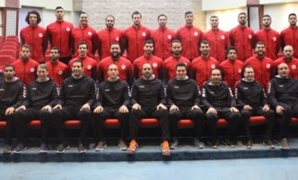Egyptian handball team- file